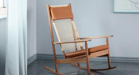 The Hans Olsen Swing Rocking Chair Is Reborn
