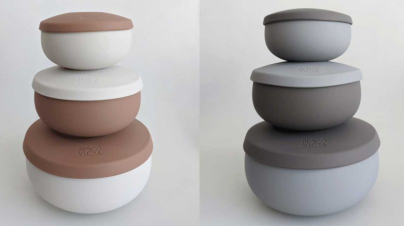 BesoVida Makes Minimal Containers to Prepare, Cook, and Serve Your food