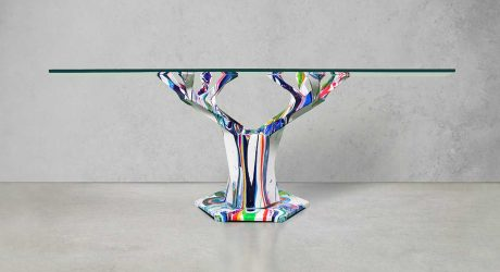 The Teâshí Coffee Table Is Given New Life by Artist Callen Schaub