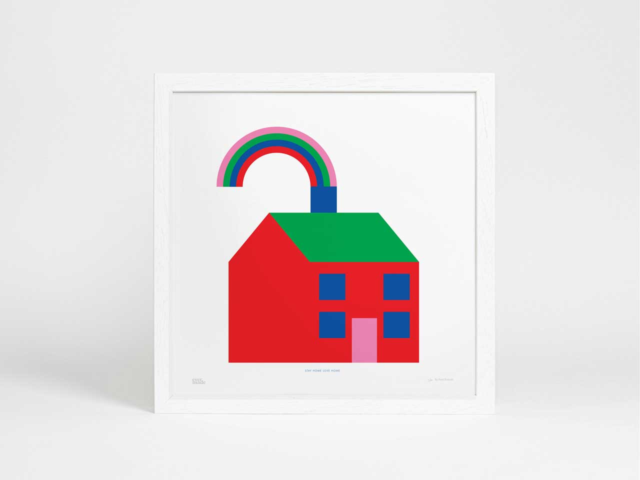 Evermade Rainbow Art Prints to Support Frontline Workers of the NHS