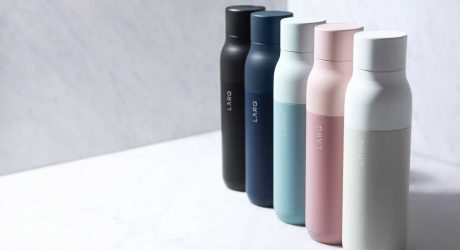 The Reusable LARQ Bottle Cleans Itself and the Water Inside