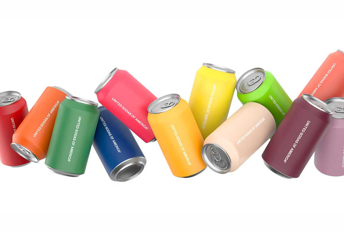 Taste the Rainbow with United Sodas of America