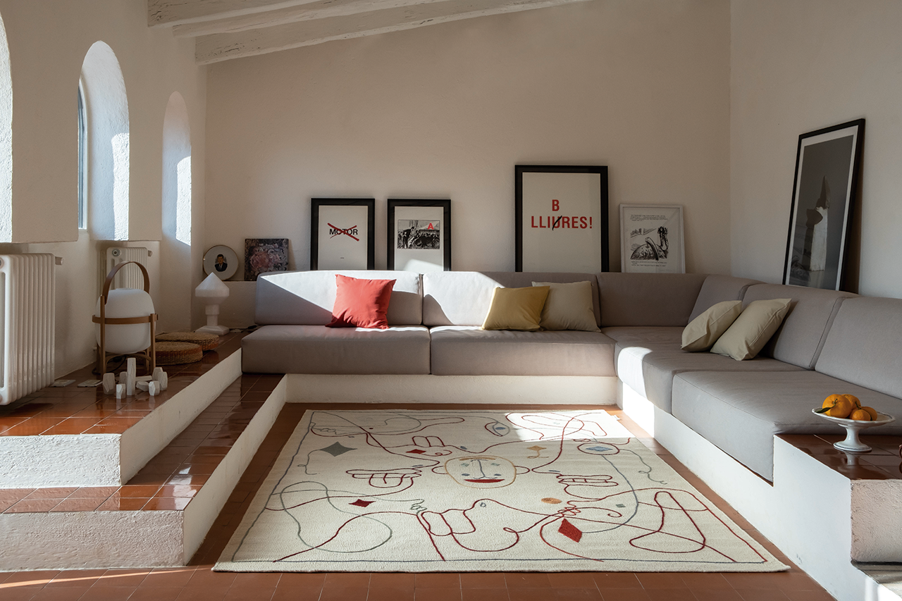Silhouette Rugs Have Their Eye on You