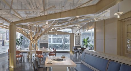 A Hotpot Restaurant That Resembles a Taipei Streetscape