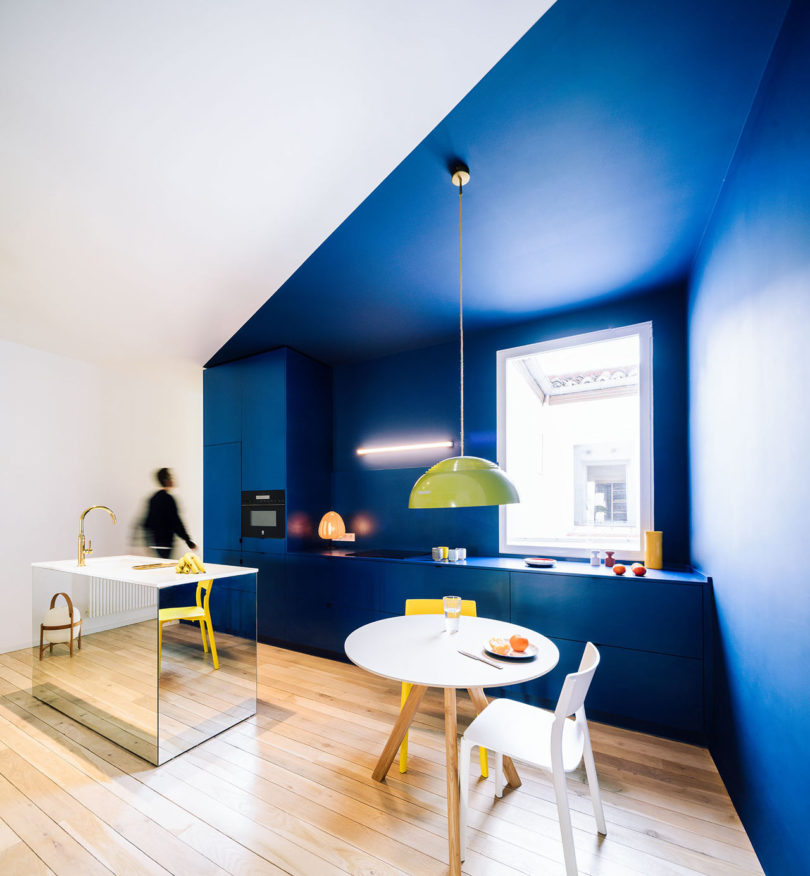 sequencehouse: A 124-Square-Meter Flat in Madrid Filled with Primary Colors