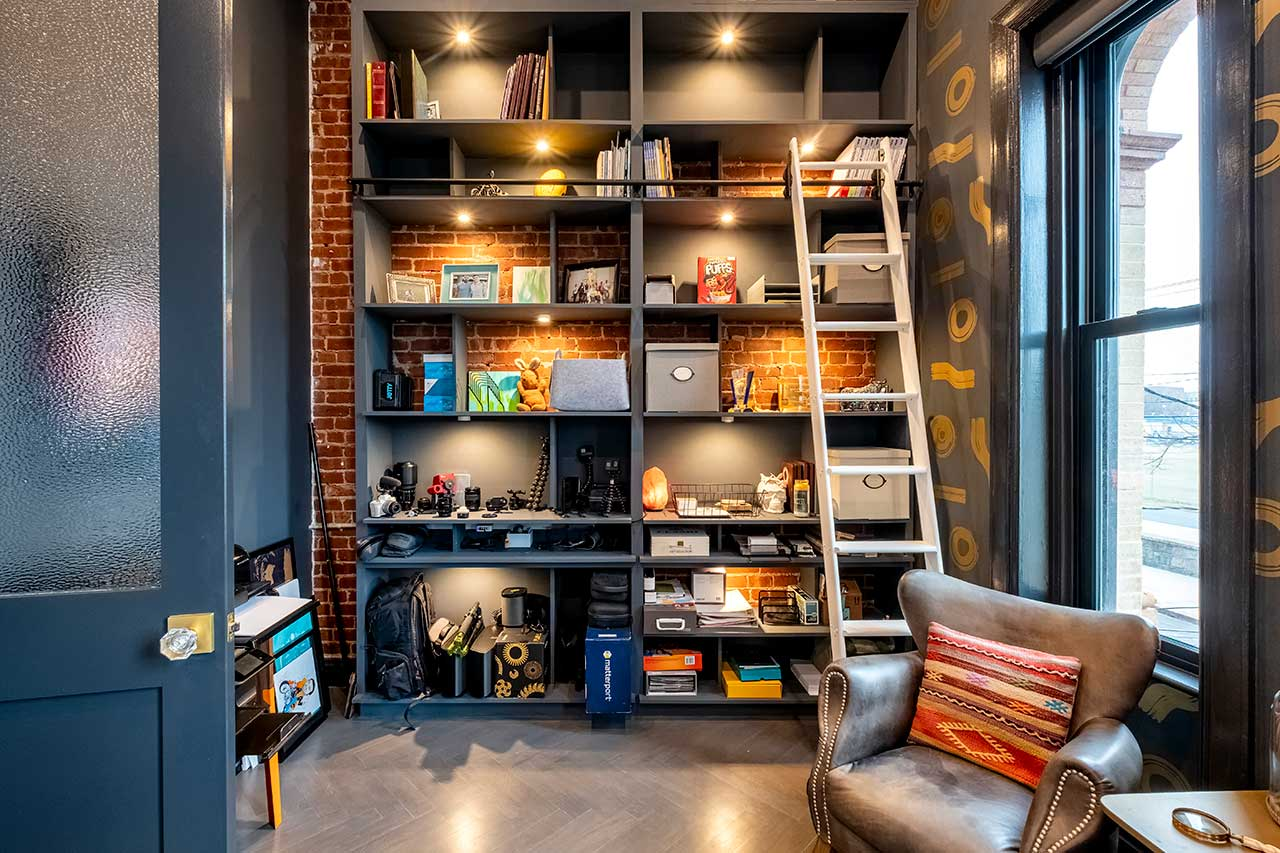TheBuild.tv Firehouse Project Episode 5: Office, Garage + a Fire Pole! [VIDEO]