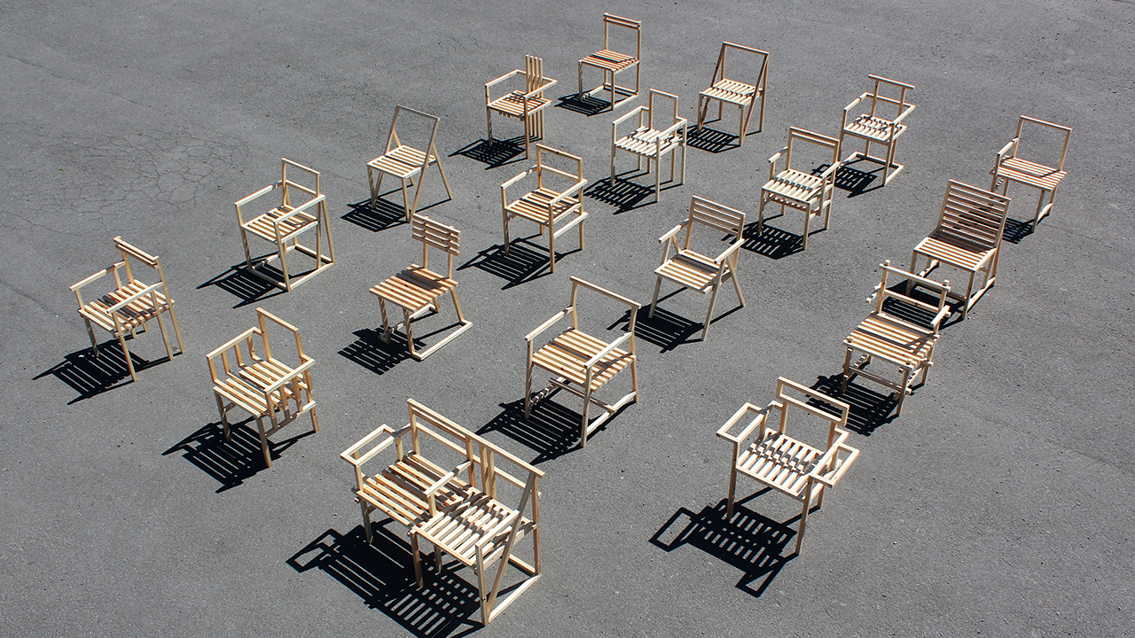 19 Chairs for Creativity + Change