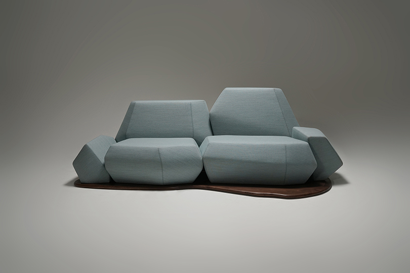 Harness The Power Of The Environment With The Iceberg Sofa
