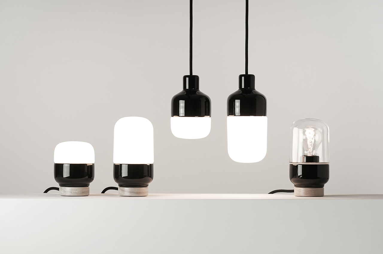 The Ohm Splash Safe Porcelain Pendant Works in the Bathroom + Beyond