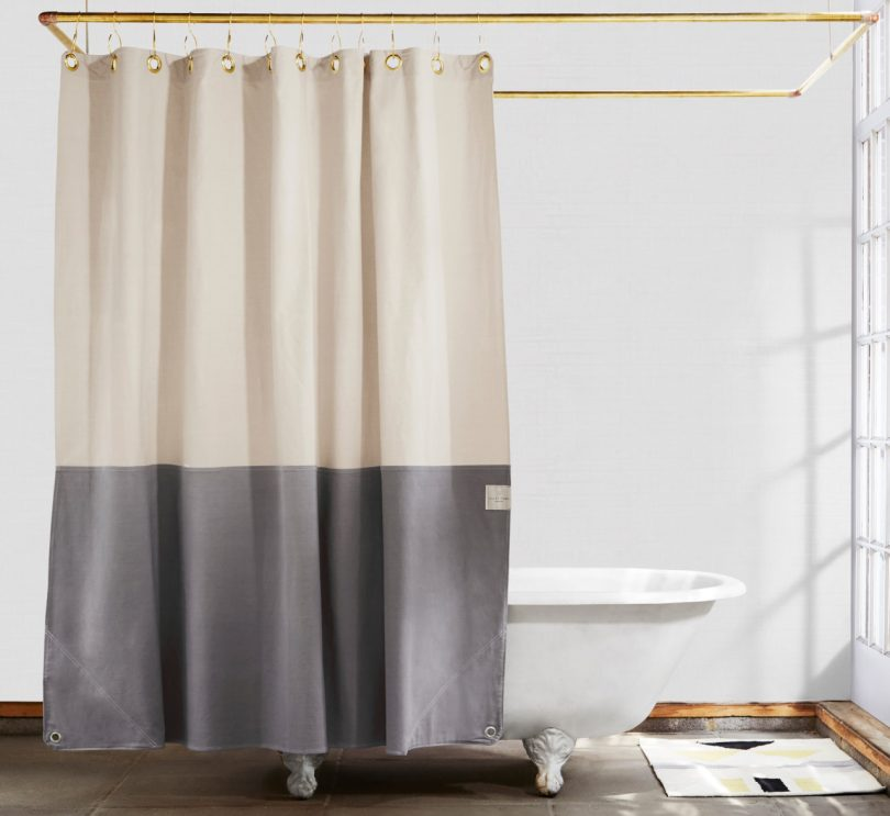 Orient Storm Shower Curtain