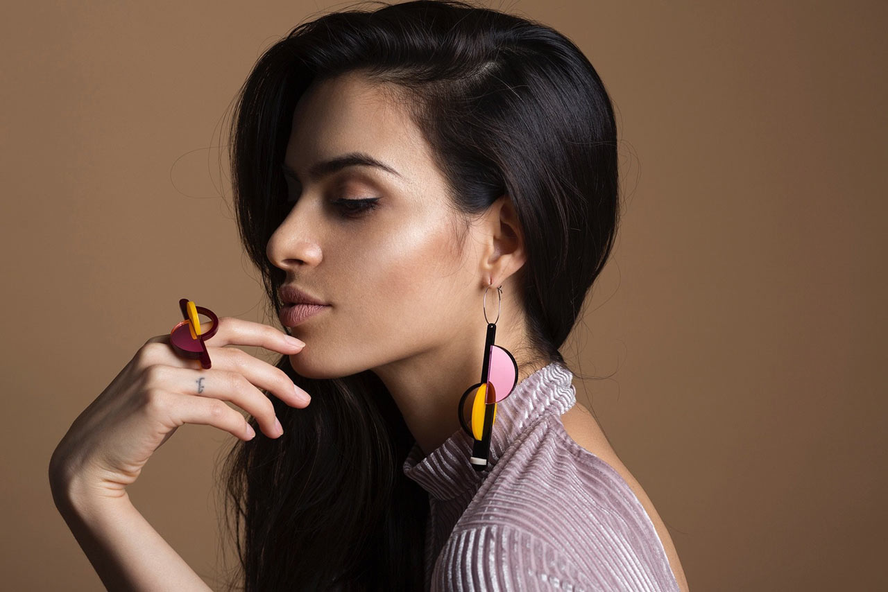 Pamela Coromoto: Bold Jewelry That's Creative, Contemporary, + Colorful