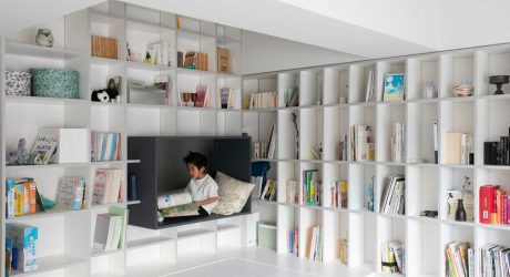A Nagoya Apartment That Adapts as the Child Grows