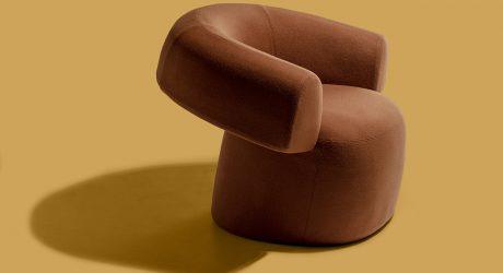 Patricia Urquiola's RUFF Chair Is Like a Seated Hug