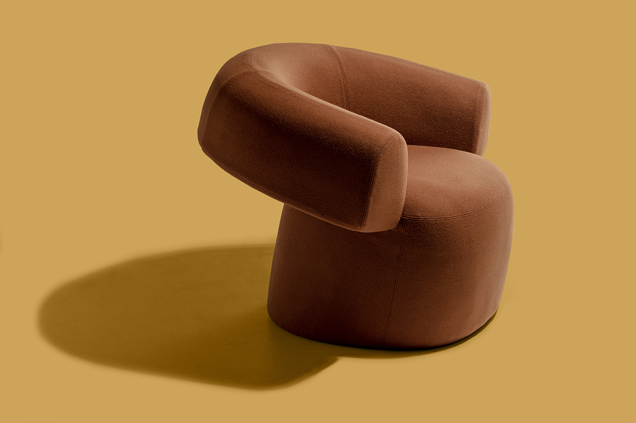 Patricia Urquiola's RUFF Chair Is Like a Seated Hug