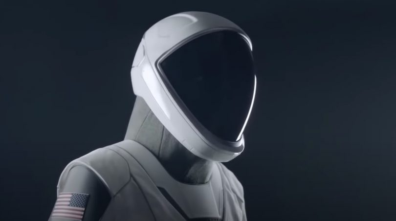 Helmet for SpaceX Spacesuit Design
