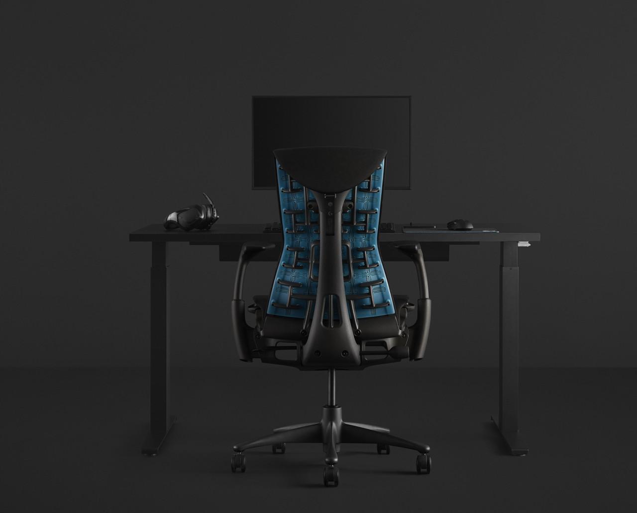 The Herman Miller x Logitech G Embody Chair Takes Aim at Gaming Ergonomics