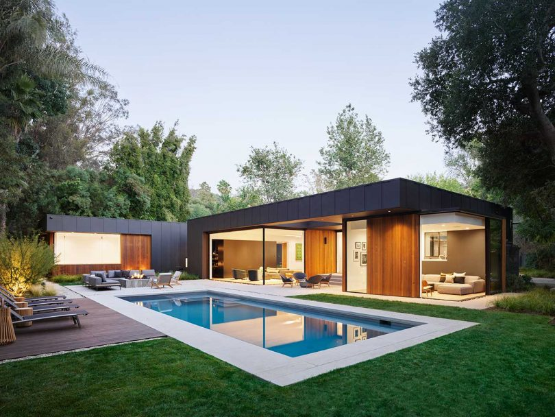 Assembledge+ Designs Three-Pavilion Laurel Hills Residence in Los Angeles