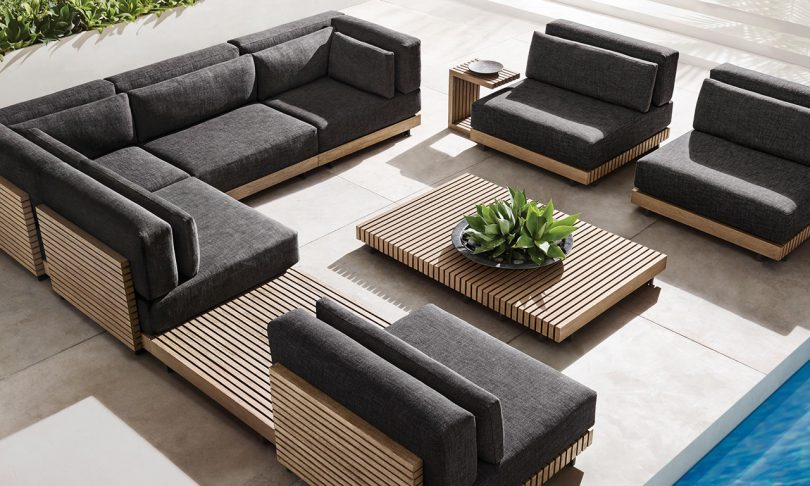 The Caicos Outdoor Furniture Collection Is Bold + Sustainable