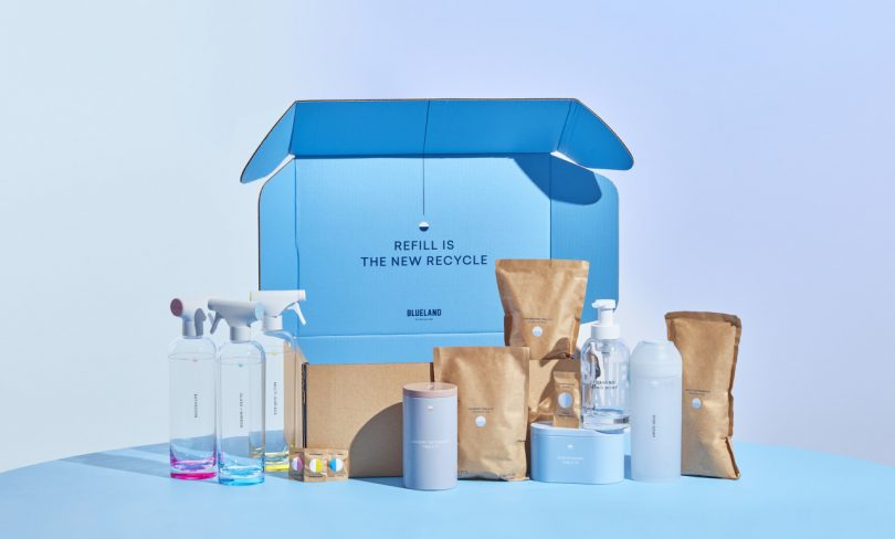 Clean up Your Home (& Earth) with Blueland's Minimalist, Refillable Cleaners