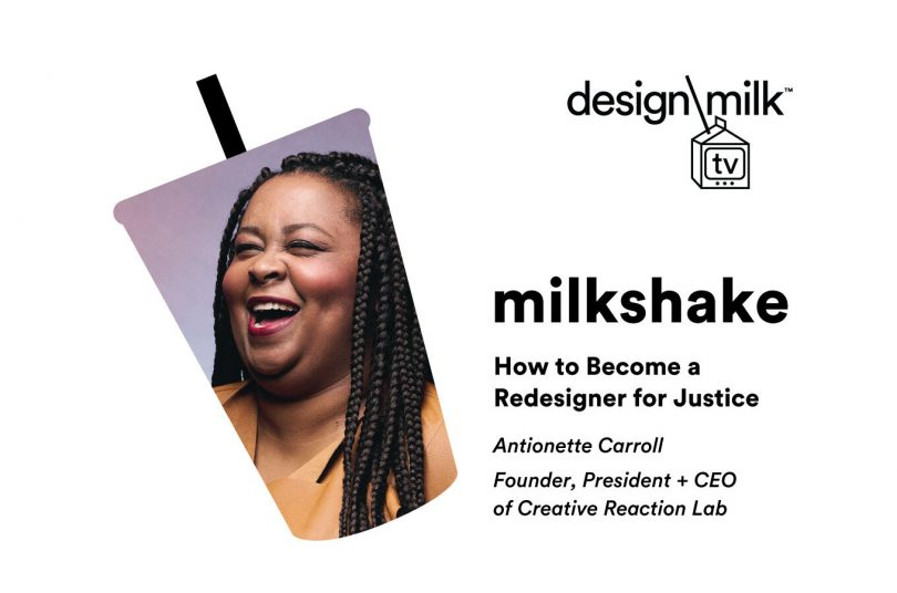DMTV Milkshake: How to Become a Redesigner for Justice with Antionette Carroll
