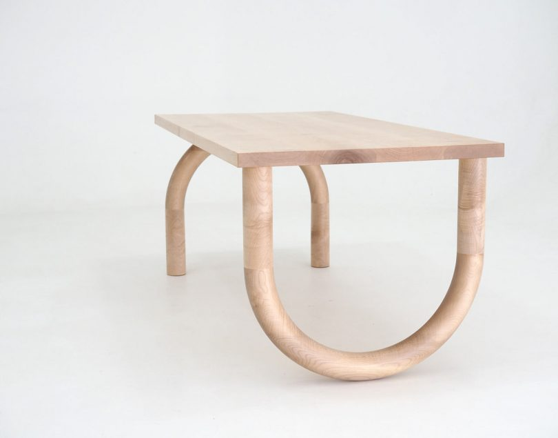 Forge Creative Makes Typography-Inspired Wooden Tables