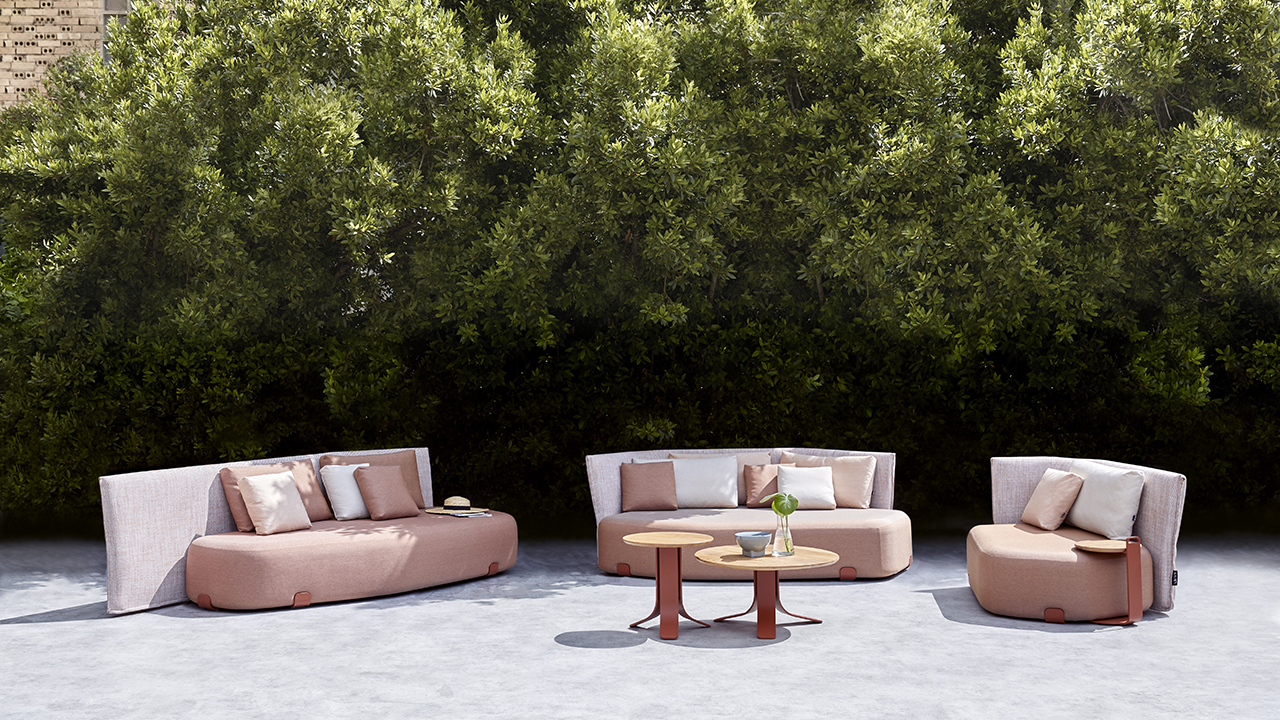 Abstract Shapes Make the ISLA Outdoor Furniture Collection a Showstopper