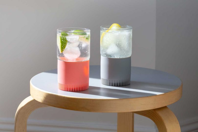 LittleSolves Designs the Quiet Glass to Avoid Noise When Setting Down