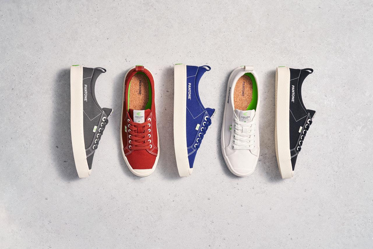 Rock These Vegan Sneakers by CARIUMA in Your Favorite PANTONE Color