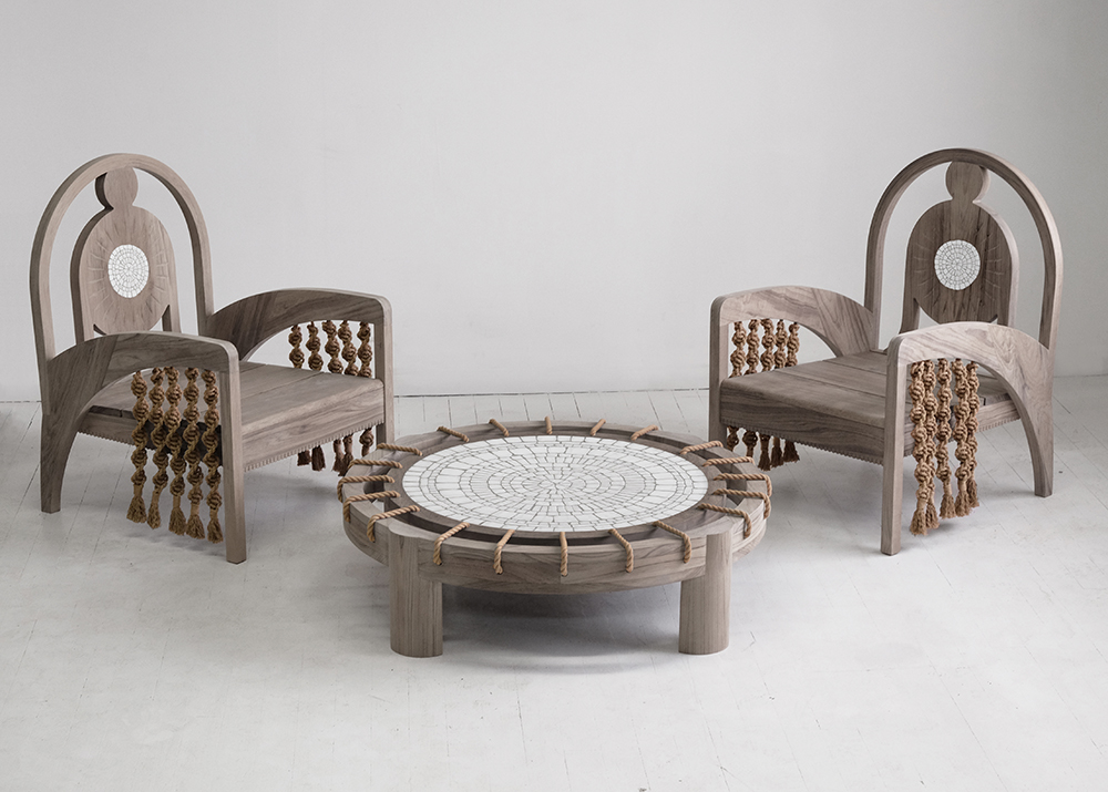 Kelly Behun Joins The Invisible Collection with an Outdoor Furniture Collection