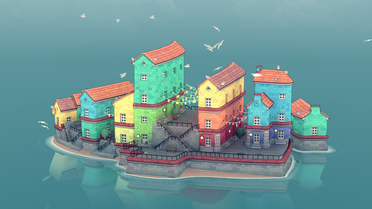 Townscaper Is a Wondrously Satisfying Architecture Cityscape Builder