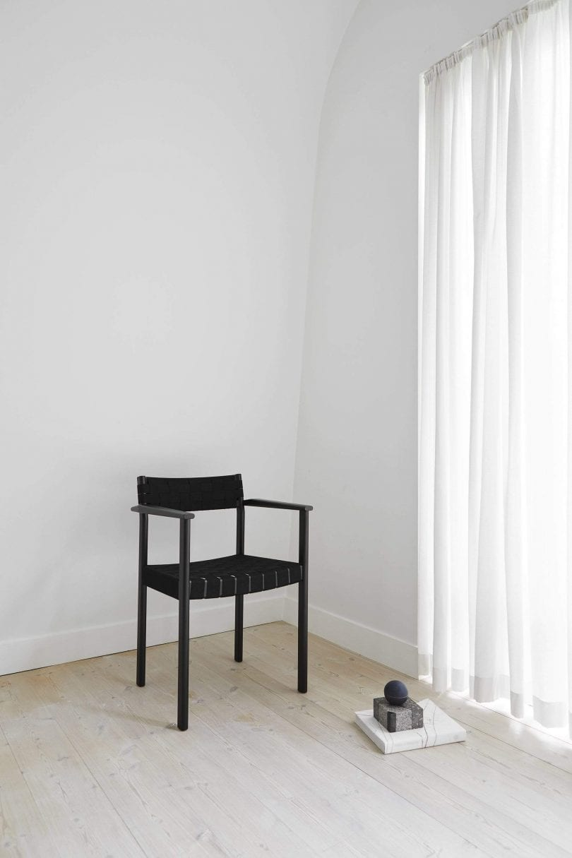 Black Motif Armchair