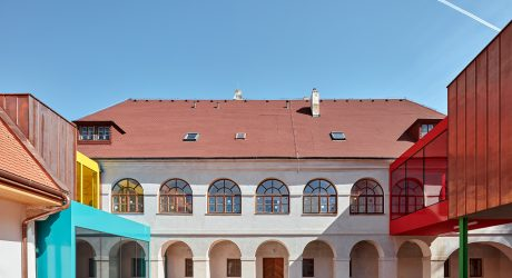 A Former Baroque Rectory Transformed Into a Cheery Elementary School