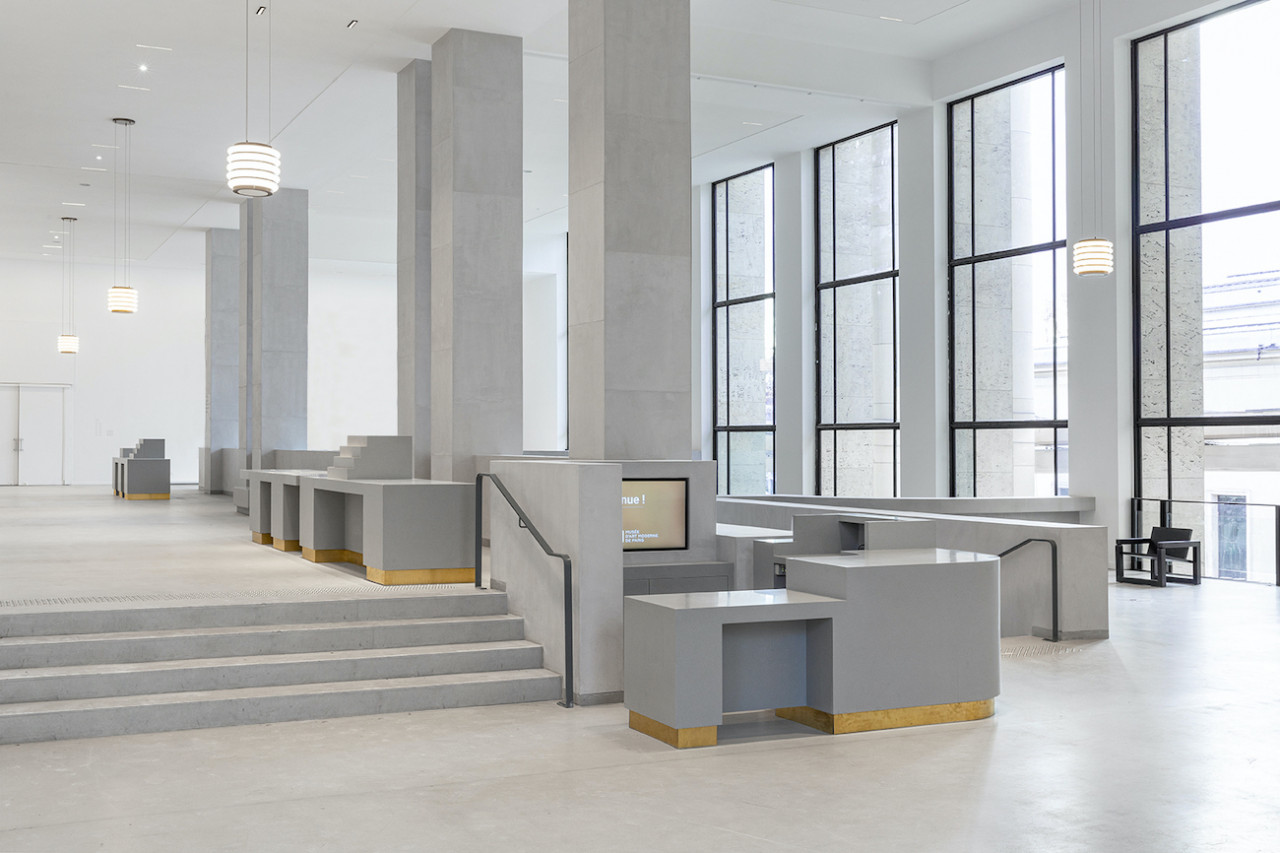 Musée d'Art Moderne de Paris by h2o architectes