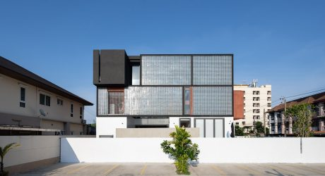 Sena House in Bangkok Features a Giant Glass Wall