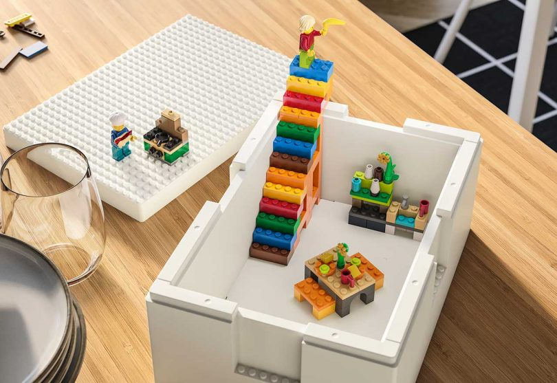 IKEA and LEGO Team up on BYGGLEK Storage Boxes You Can Also Play With