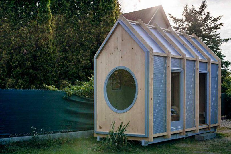 Hello Wood Designs a Reasonably Priced Tiny House Named Kabinka