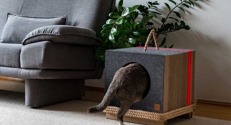 Mioou: Modern Cat Furniture Designed by an Architect