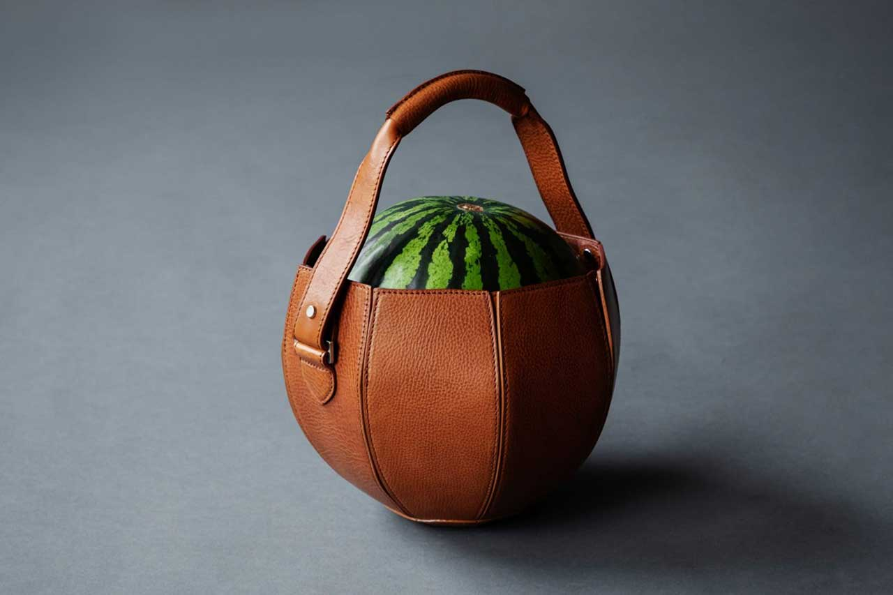 Take 5: Leather Watermelon Bags, 3D-Printed Earrings, Vegan Sneakers + More