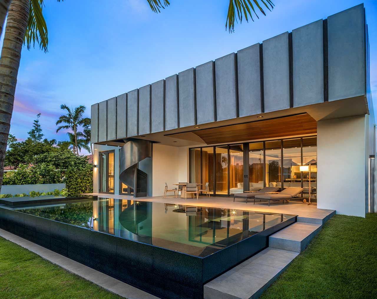 A Miami Beach Villa Designed From the Inside Out