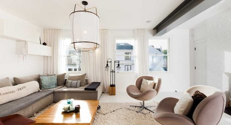 Two Adjacent Flats Merge into Modern Apartment in Hampstead