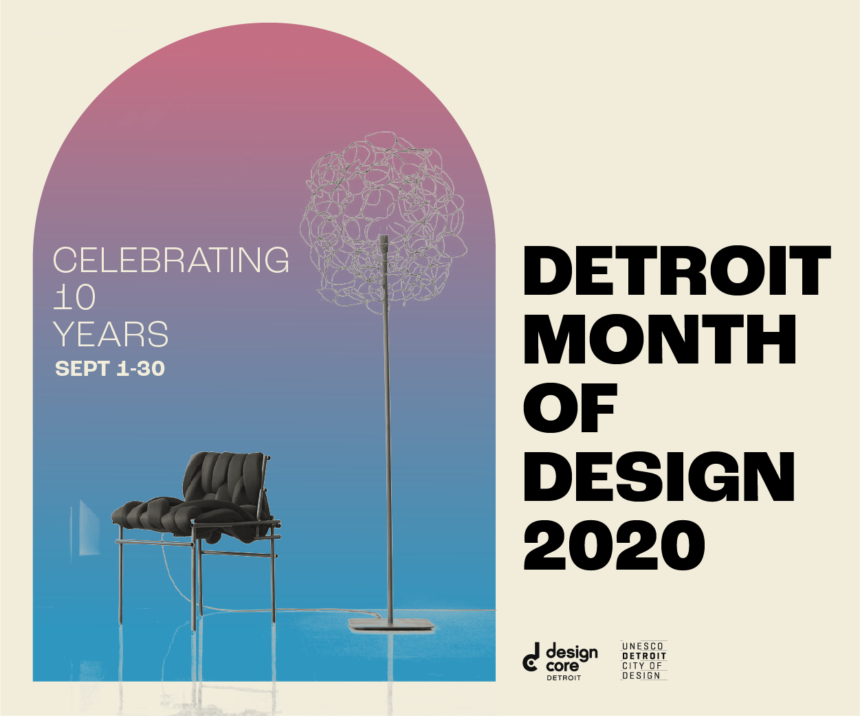 Celebrating 10 Years of Detroit Month of Design: What to See + Do in September