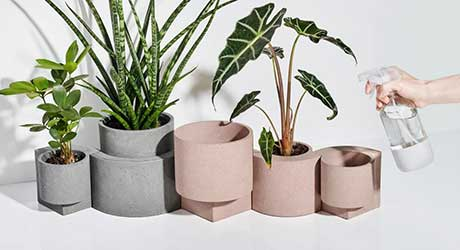 Take 5: Cool Planters, Art Chocolates, a Clickety-Clack Keyboard + More