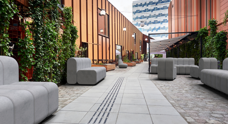 OPPO Betong + BOB Betong Concrete Outdoor Furniture
