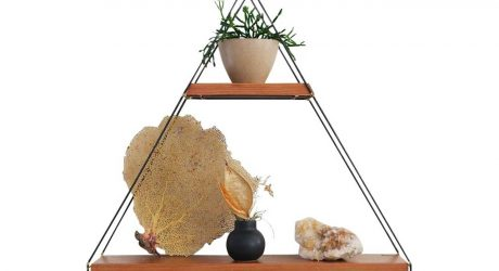 Modern Triangle Wall Shelves To Hold Your Favorite Tchotchkes