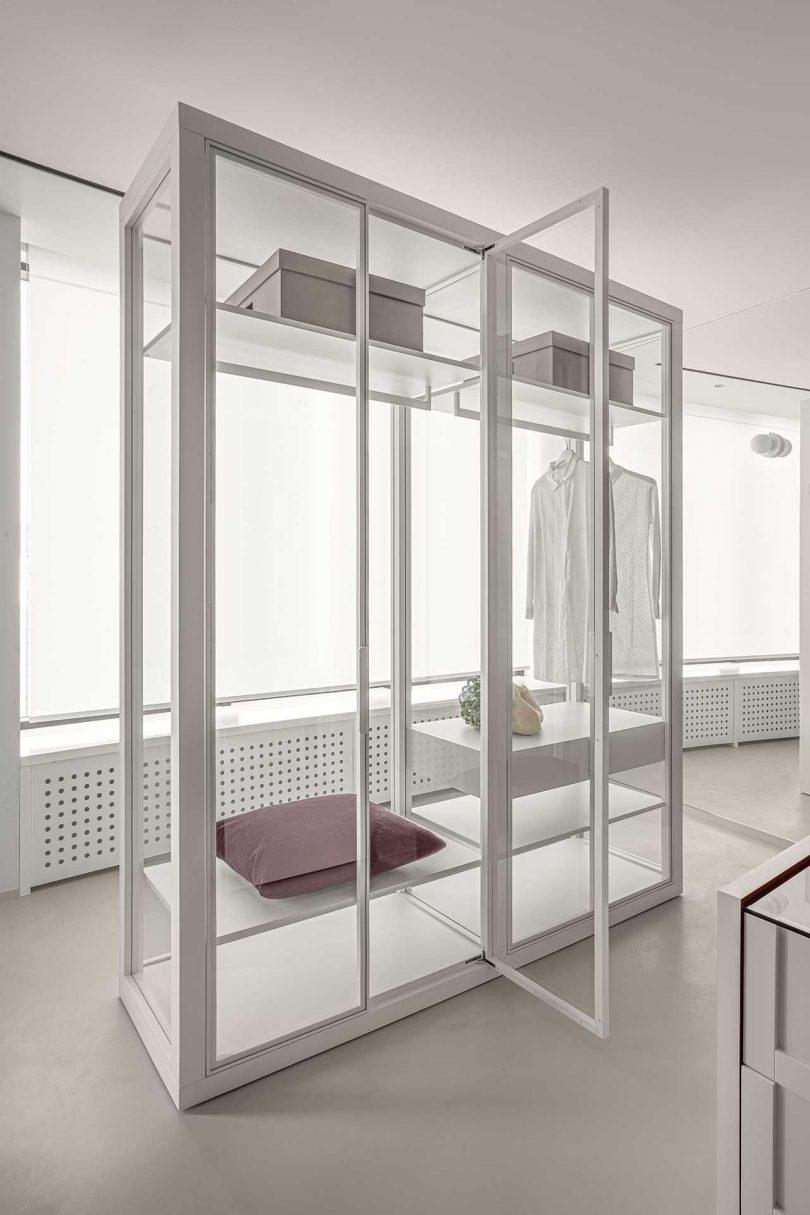 Closet in Kiev apartment