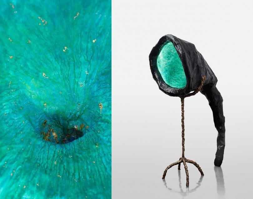 Brecht Wright Gander Makes the Sculptural Illumination Machine #1