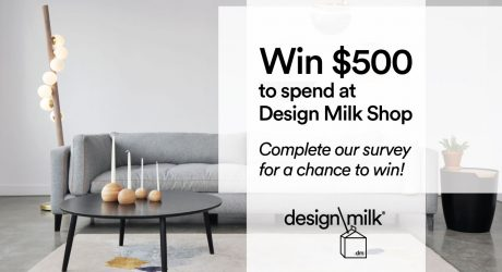 DM 2020 Reader Survey: Enter To Win a $500 Gift Card to the Design Milk Shop!