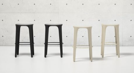 The Jueki Stool Collection Echoes Nature