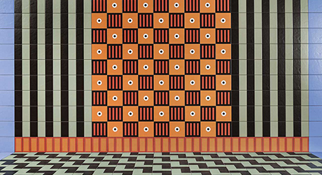 Nathalie Du Pasquier Designs a Boldly Graphic Collection of Tiles for Mutina