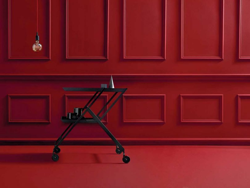 Alessi Reissues the Practical, Stylish Plico Trolley Cart